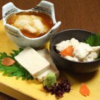 京都といえば【湯葉や湯豆腐】などご用意あります