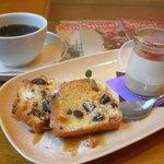 CIMOLO CAFE - コーヒー+パウンドケーキ+紅茶のプリン