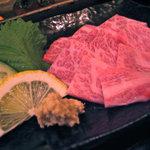 焼肉 菜好牛 - 大トロ牛刺し