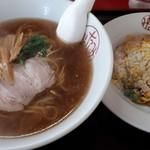 中華みなみ - 料理写真:ラーメン半チャーハン900円
