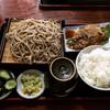 そばいち - 料理写真:生姜焼セット ¥900-