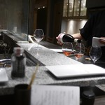 焼き鳥とワイン 源 - ナチュールワイン豊富