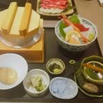 うお坐 - 料理写真:釜飯定食