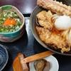 さぬきうどん 麦笑 - 料理写真:鶏ちく天おろしぶっかけお得セット