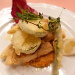 ピッツェリア・サバティーニ - 鮮魚と季節野菜のフリット