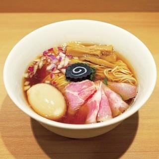 らぁ麺 はやし田 - 料理写真:☆【らぁ麺 はやし田 新宿本店】さん…特製のどぐろそば(≧▽≦)/~♡☆
