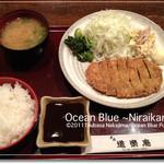 道楽庵 - とんかつ定食(ランチ)