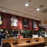 太陽のトマト麺 - 綺麗な店内