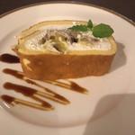 ベーカリーレストランサンマルク - デザート  マロンのロールケーキ