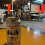 おかや - アサヒスードラ(缶ビール)¥300