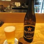 そば季寄 武蔵屋 - ビール