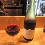 そば季寄 武蔵屋 - 赤ワイン「農民ロッソ」