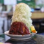 葉栗屋 - 料理写真:味噌かつライス キャベツ普通☆