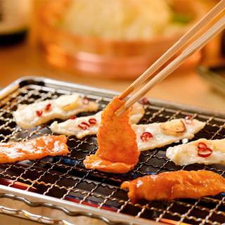 ふぐを焼肉スタイルで愉しむ「焼きふぐ」は必食です!