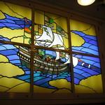 115314092 - 帆船のステンドグラス