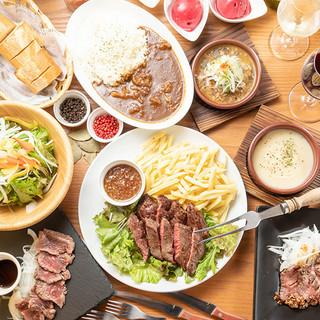 肉好きには堪らないっ!!!!!★肉尽くし宴会パーティコース