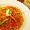 パスタ デ パスタ - 料理写真:ズワイガニとマスカルポーネのスパゲッティ。