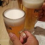 115323296 - とりあえず〜の生ビール