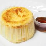 115326007 - バスクチーズケーキ+メープルシロップ