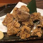 魚と日本酒 uchi  - 鮪の竜田揚げ