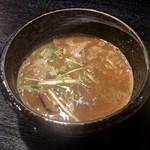 つけ麺専門 麺処 虎ノ王 - つけ汁
