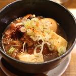 二升五合 - 牛スジ豆腐
