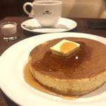 珈琲館 - ホットケーキ、コーヒー