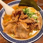 麺家くさび - 排肉みそ豚骨麺