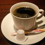 郷どり 燦鶏 - サービスのコーヒー