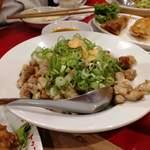 餃子家 龍 - 肉入れすぎ炒飯