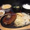 龍宝 - 料理写真:ハンバーグ定食(700円別税)