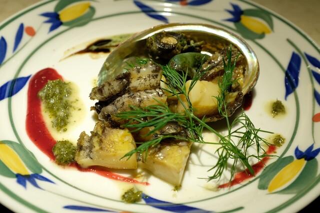 鉄板焼き ステーキ 湛山の料理の写真
