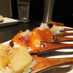 115346441 - One Spoon 魚卵6種盛り合わせ(1500円)