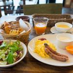 フィオーレ志摩 - 料理写真:アメリカンブレックファスト(前日までに要予約)