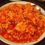 三百宴や - [2012.02.09] イカとたまごのチリソース
