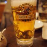 三百宴や - [2012.02.09] 生ビール
