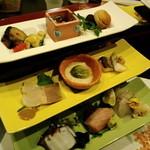 慶喜 - 三段酒肴