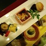 慶喜 - 三段酒肴、上段