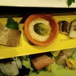 慶喜 - 三段酒肴、中段