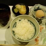 慶喜 - 烏骨鶏の玉子かけご飯