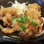 膳処 とと屋 - 日替わり定食 (鶏の竜田揚げ)800円