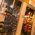 東京渋谷 炭火串焼 鳥横 - 店舗入口