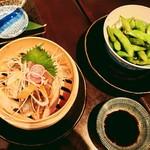 京 泰山木 - 藁焼ききずし