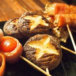 東京渋谷 炭火串焼 鳥横 - 野菜串
