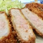 とんかつ 燕楽 - 料理写真:ロースカツ定食 単品  1,700円