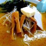 115389758 - 味噌カレー牛乳ラーメン(バター入り)
