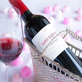 カジュアルに愉しむワインからこだわりのワインまで