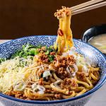 満州軒 - 汁なしタンタン麺