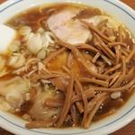 共楽 - ワンタンメン+竹の子