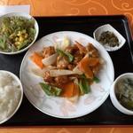 中華料理 李香 - 酢豚定食 850円